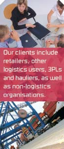 Aricia Limited - logistics consulting - our clients include retailers, other logistics users, 3PLs and hauliers, as well as non-logistics organisations